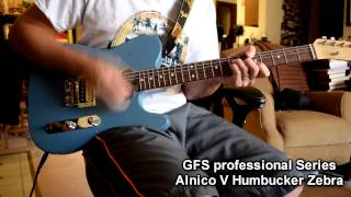 Humbucker Shootout: GFS Alnico V vs. Dimarzio 36th Anniversary