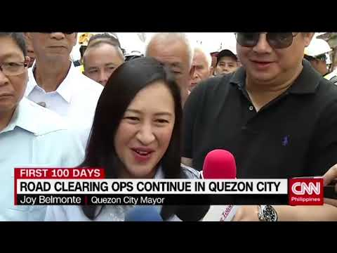 Road clearing efforts continue in Quezon City