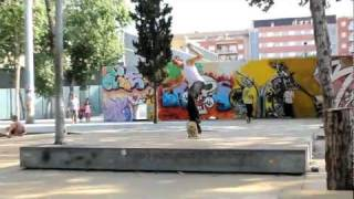 Barcelona all good times skate trip 2011
