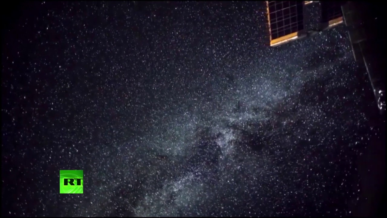 Млечный путь: вид с МКС
