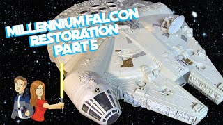 Star Wars Vintage Millennium Falcon Restoration - Part 5/5 Kenner