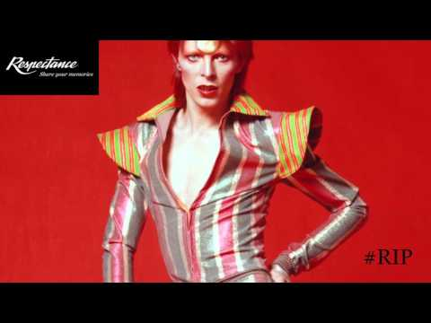 In loving memory of David Bowie #RIP - Respectance
