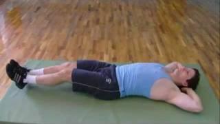 Упражнения для быстрого похудения живота.