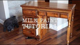 Milk Paint Tutorial