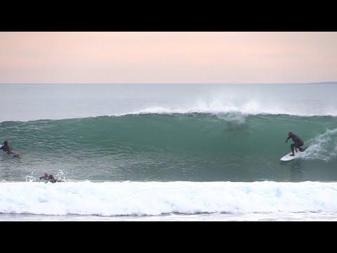 Surfing a Clean California Point Break