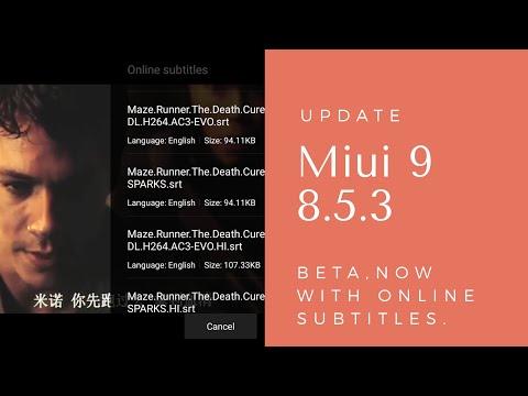 Miui 9 Update 8.5.3 Beta Developer Features & Bug Fixes   Hindi - हिंदी