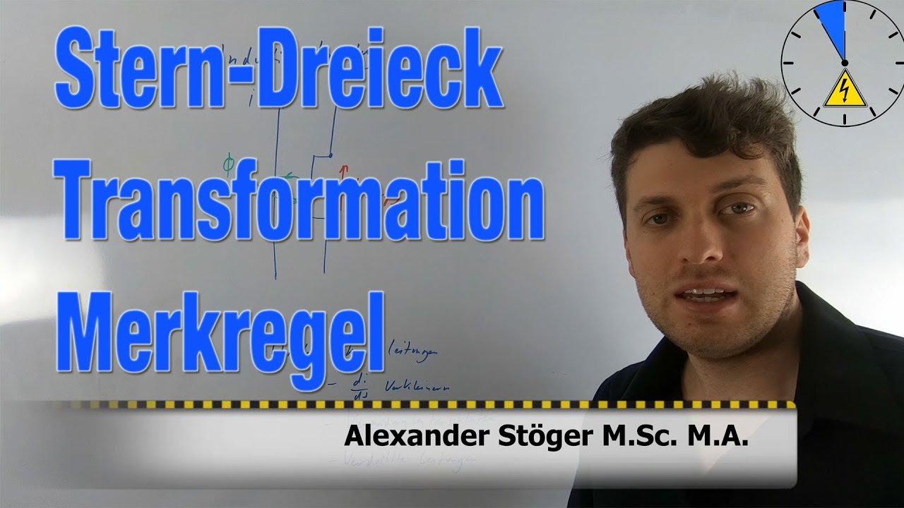 Stern Dreieck Umwandlung + MERKREGEL #ET5M - YouTube
