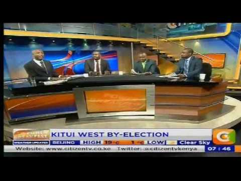 Power Breakfast: Newspaper review: Kitui West By-election