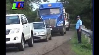 ACCIDENTE DE TRANSITO CARRETERA JUIGALPA A MANAGUA