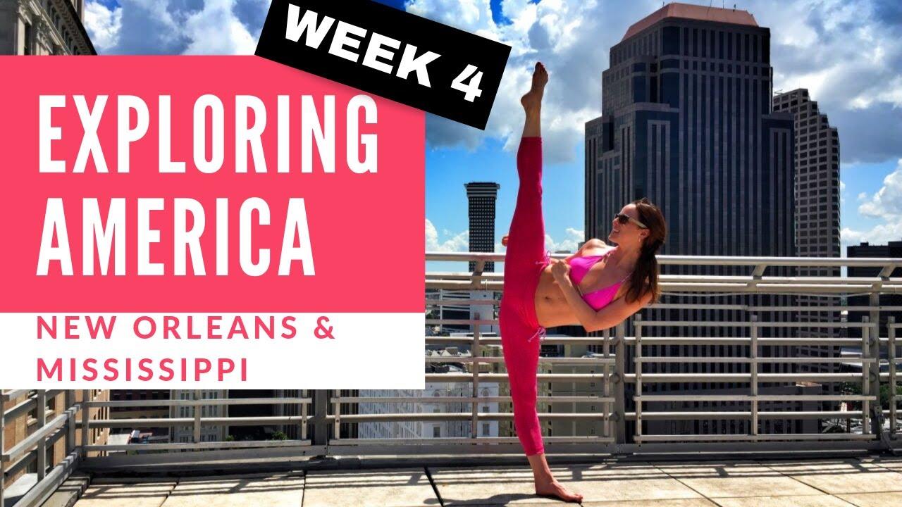 Chloe Bruce tours America   New Orleans & Mississippi   My VLOG week 4