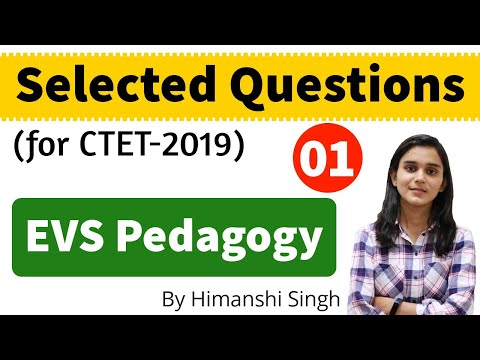 EVS Content & Pedagogy Selected Questions for CTET-2019 | Mock-01