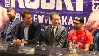 TONY BELLEW v ILLUNGA MAKABU - OFFICIAL PRESS CONFERENCE W FULL UNDERCARD / REAL LIFE ROCKY STORY