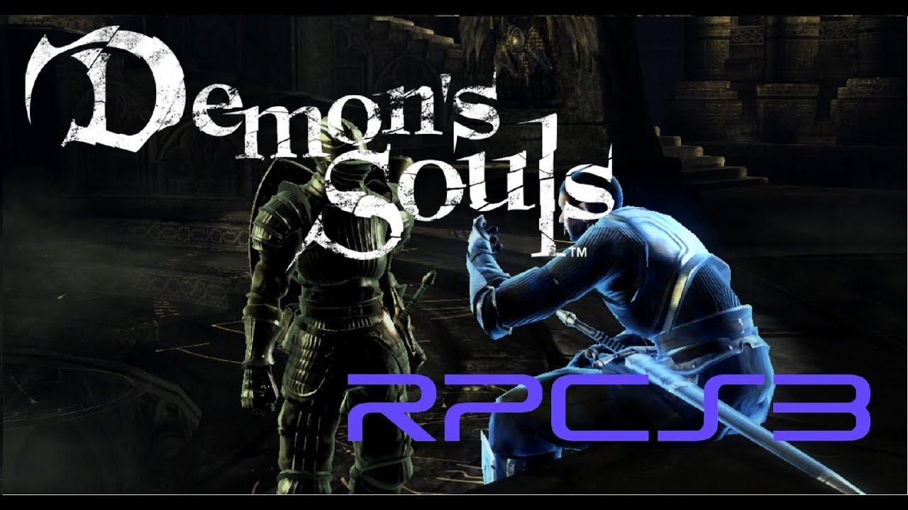 [RPCS3] Demon's Souls - Setup || Settings || and Gameplay (02 05 2019)