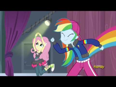 Mane 7 rehearse the music video - Dance Magic