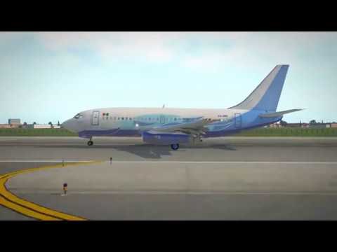 Heavy Metal - Global Air (Mexico) old FlyJSim 737-200 V3 - Liveries