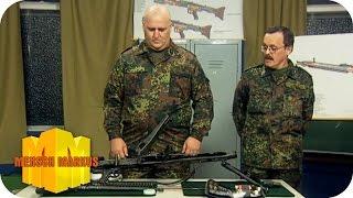 Maschinengewehr zusammenbauen | Mensch Markus