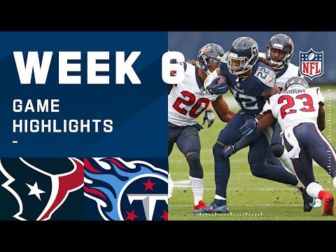 Texans vs. Titans Week 6 Highlights   NFL 2020
