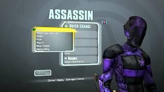 Borderlands 2 Assassin Skins