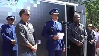 New Zealand Muslim Police Officer's Moving Speech Shooting Aftermath