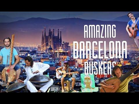 AMAZING BARCELONA BUSKERS