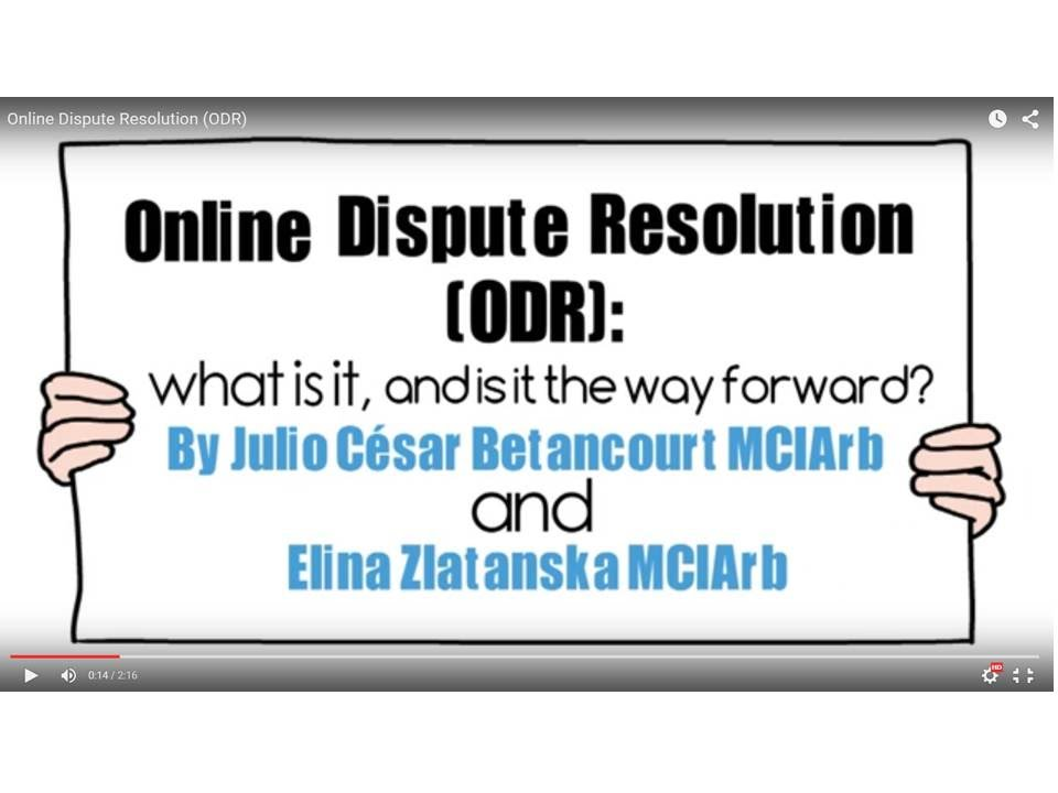 online dispute resolution in india Online dispute resolution system- a way toward hassle free dispute resolution india is yet to mechanism in resolution of dispute for smes as odr can be a.