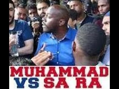"Sa Ra Garvey's Logical Fallacy #1 ""Was Muhammad White? Is Islam Anti African?"" #SPEAKERS CORNER USA"