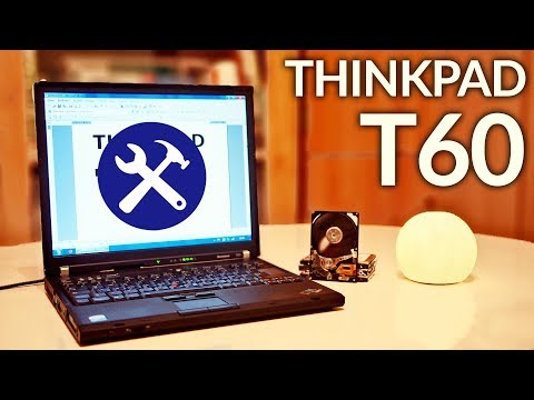 IBM ThinkPad T60 - Greatest Work Laptop Ever Made? (extended)