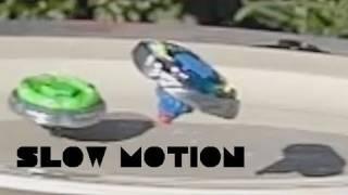 BeyBlade Fighting -  Battling in SLOW MOTION-  DAMMIT! thumbnail