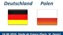 EM Spiel Deutschland:Polen