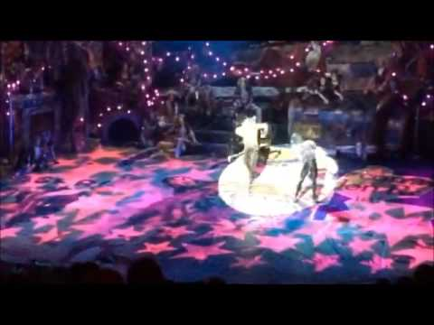 mr mistoffelees- Cats  london palladium revival 2015