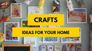 50+ Awesome Creative Crafts Ideas for Your Home 2018