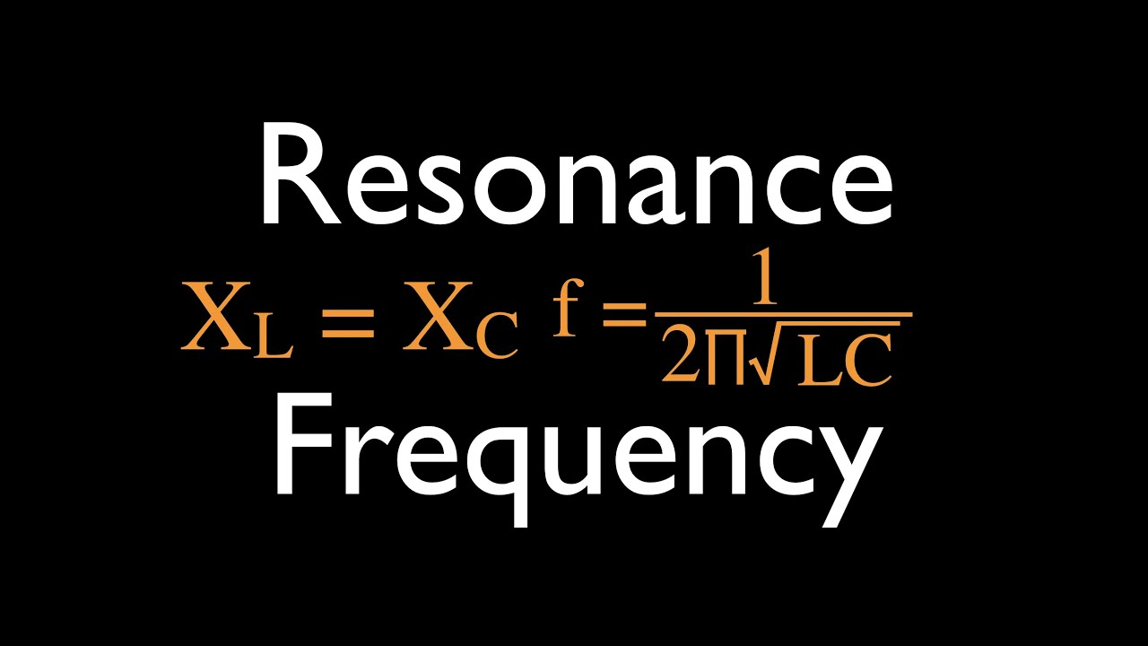 Rlc Circuits 14 Of Resonance For Series Youtube Ac Rl Rc Apseeecom