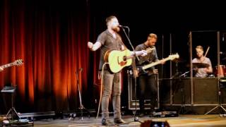 "Zach Williams performing ""Chain Breaker"" at CMB Conference Nashville"