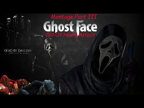 Call Of Heart Attack - Ghostface Montage [3 - 2020] - Dead by Daylight  