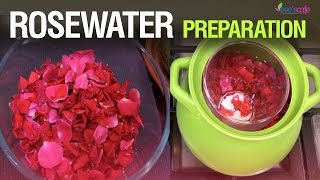Make Rose Water at Home -DIY | Distilled Rosewater 100% natural | Pesticides Free