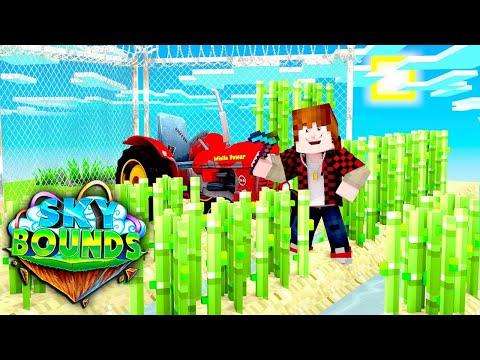 How To FARM! | Minecraft SkyBounds #5 | Bajan Canadian