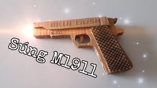 SÚNG M1911 BẰNG GIẤY | GUN M1911 WITH PAPER