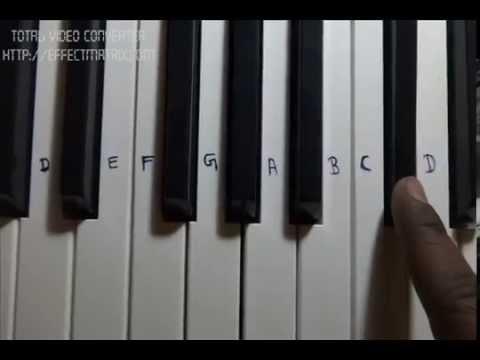 Galliyan Ek Villian Full Song Piano Notes how to play