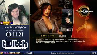 #ESAMovember Speedruns - James Bond 007: Nightfire [Any%] by callmeliam