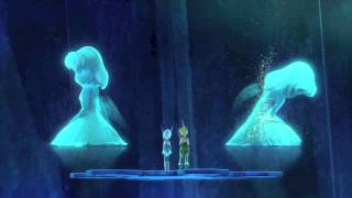 "Tinkerbell Secret of the wings - ""Born of the same laugh"" scene"
