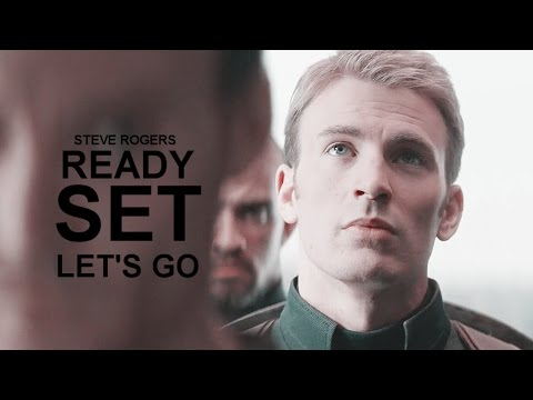 Steve Rogers | Ready Set Let's Go.