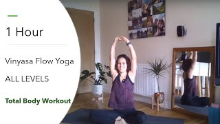 1-Hour Vinyasa Flow | All Levels Yoga Sequence  | Weight Loss Yoga | Total Body Workout | Amari Yoga