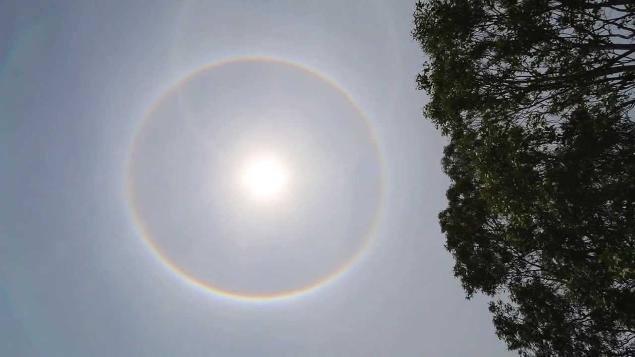Ring Around The Sun In The Sky
