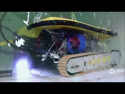 ECA Group - Rovingbat - Multi-purpose ROV and Crawler
