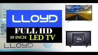 Lloyd 39 Inch L39FN2 Full HD LED TV  | Unboxing | Specifications |