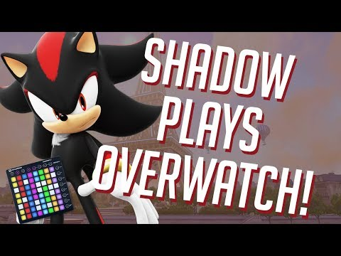 Shadow The Hedgehog Plays OVERWATCH! Soundboard Pranks In Competitive!