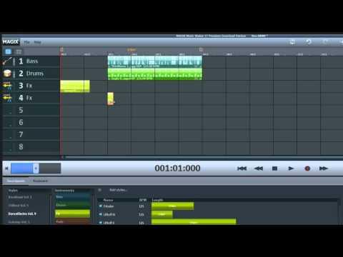 Magix Music Maker Tutorial für Anfänger