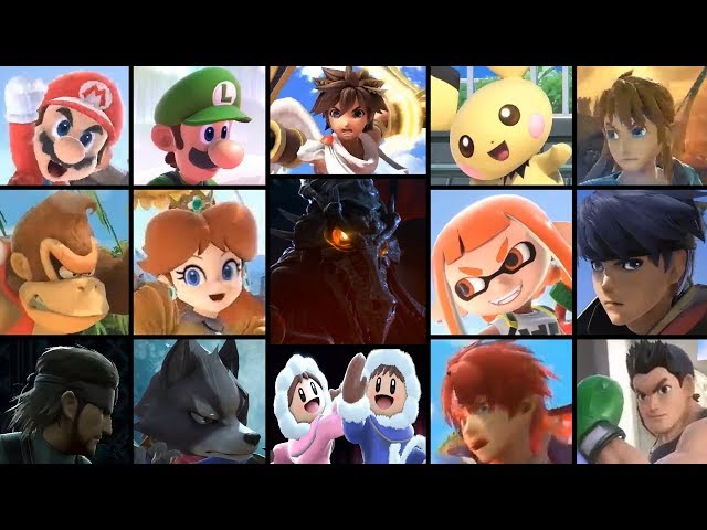 Super Smash Bros. Ultimate - All Characters