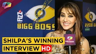 Shilpa Shinde Doesn't Want To Meet Hina Khan | Exclusive WINNING Interview HD | Bigg Boss 11