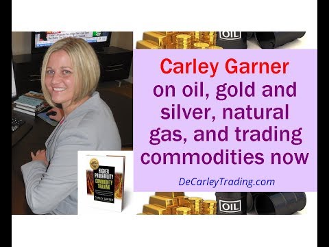 Carley Garner on oil, gold & silver, natural gas, & trading commodities now